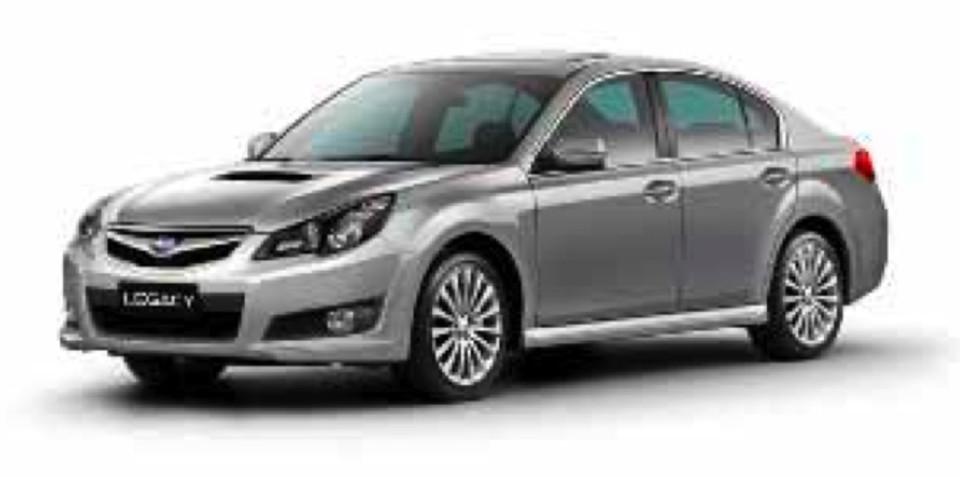 2010 Subaru Liberty, Outback set for release at Frankfurt