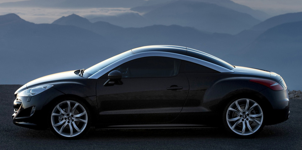 Peugeot RCZ to be launched in Europe early 2010, Australia late 2010