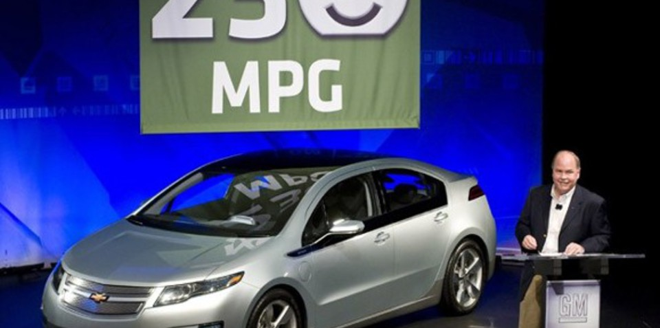 Chevrolet Volt nabs 230mpg rating