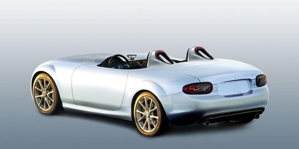 Mazda MX-5 Superlight Concept set to appear in Frankfurt