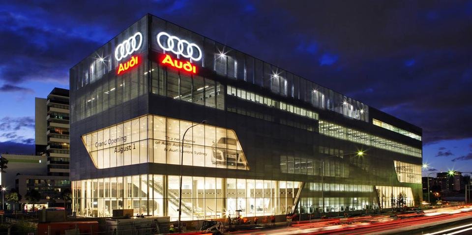 Audi opens flagship 'Lighthouse' development