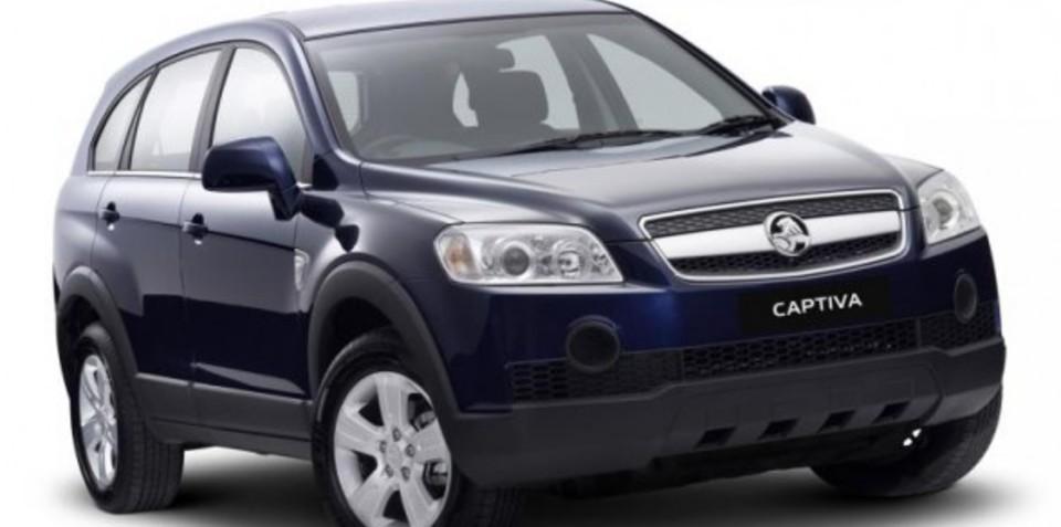 Holden Captiva becomes Australia's best selling SUV