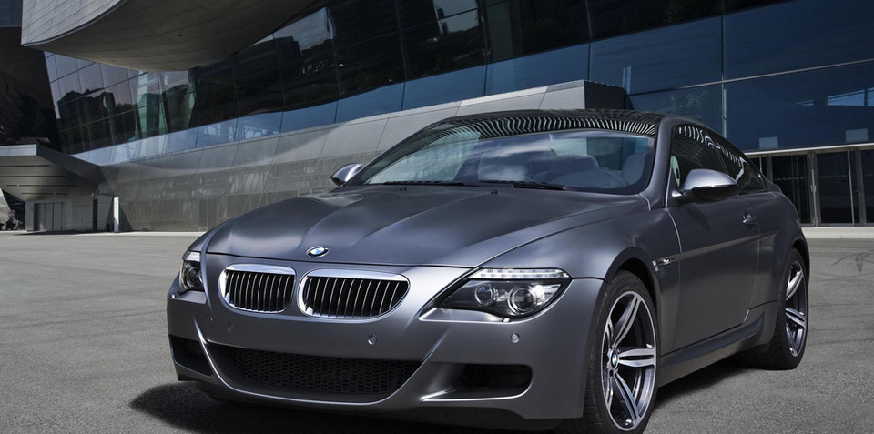 BMW M6 Competition special edition to be revealed at Frankfurt
