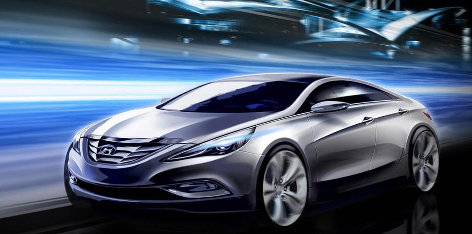 2010 Hyundai Sonata to be unveiled next week