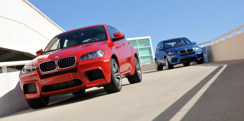 BMW X6 M and X5 M set for Australian debut