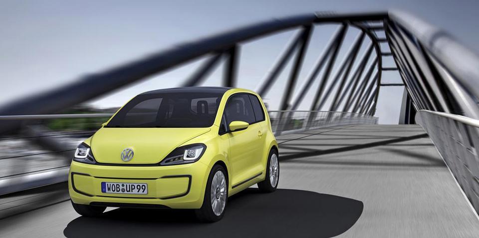 Volkswagen E-Up! zero emissions vehicle announced at Frankfurt