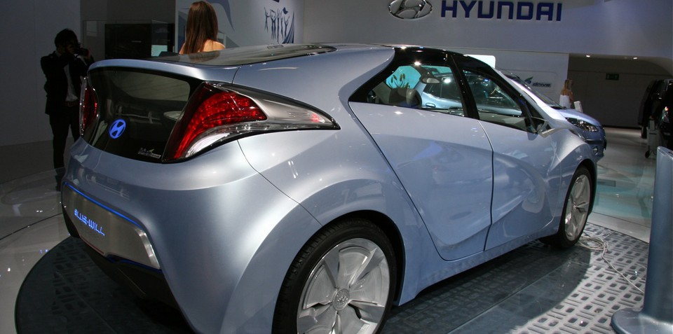 Hyundai Blue-Will at Frankfurt Motor Show