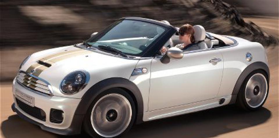Mini Roadster breaks cover at Frankfurt