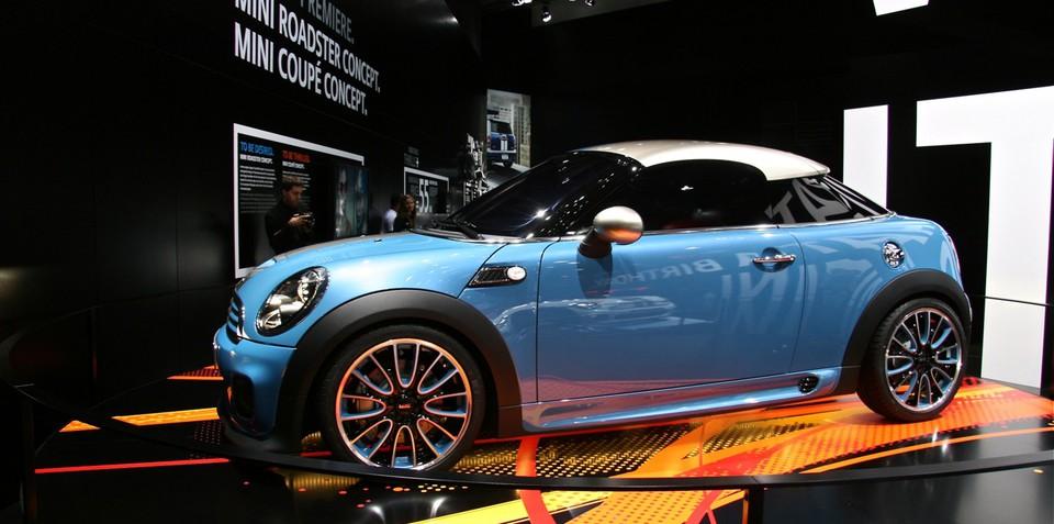 MINI Coupe Concept at Frankfurt Motor Show