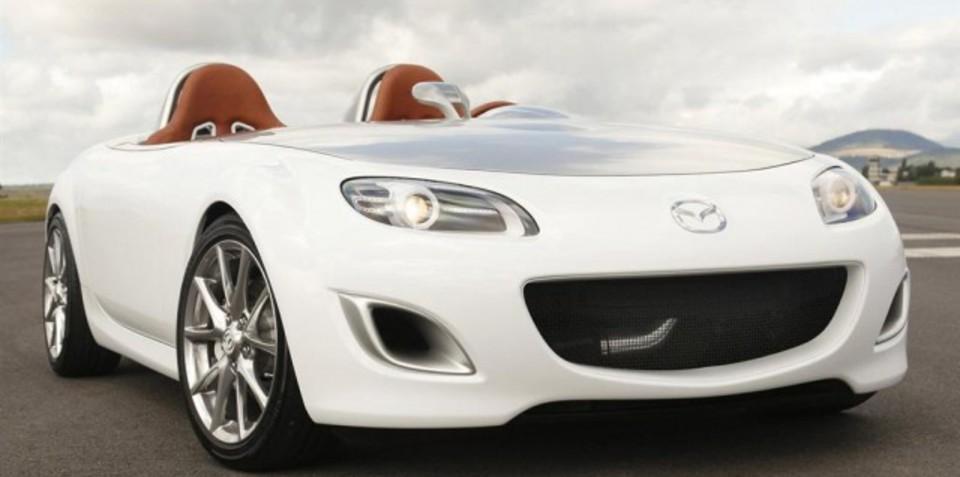Mazda MX-5 Superlight concept images, specs leaked