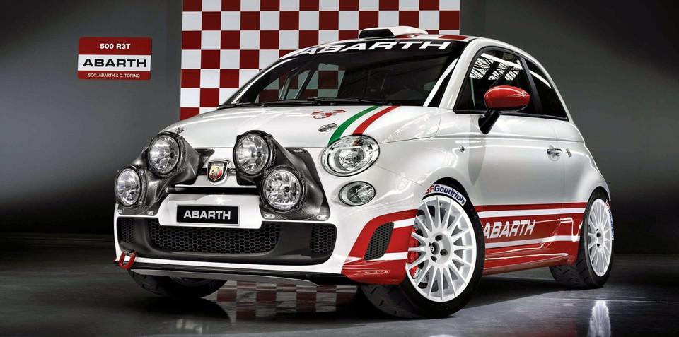 Fiat Abarth 500 R3T Rally Car