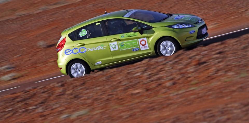Ford Fiesta ECOnetic achieves sub-3.0L/100km fuel economy