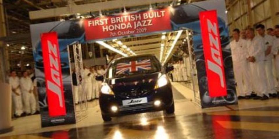 Honda Jazz begins UK production