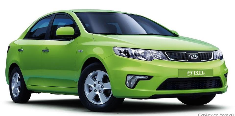 Kia Cerato LPI Hybrid to enter Global Green Challenge