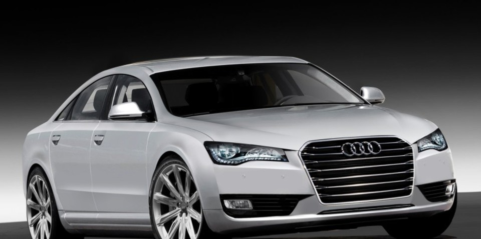 Audi A8 to be unveiled in 10 days time