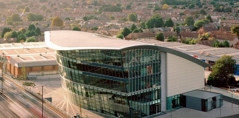 London builds biggest Audi dealership