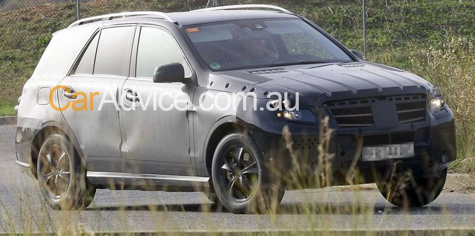 2010 Mercedes-Benz ML-Class spy photos