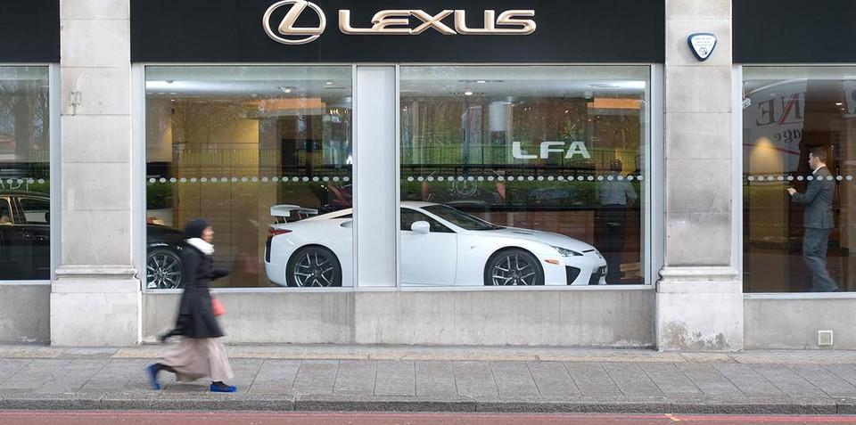 Lexus LFA for sale, not lease, in Europe