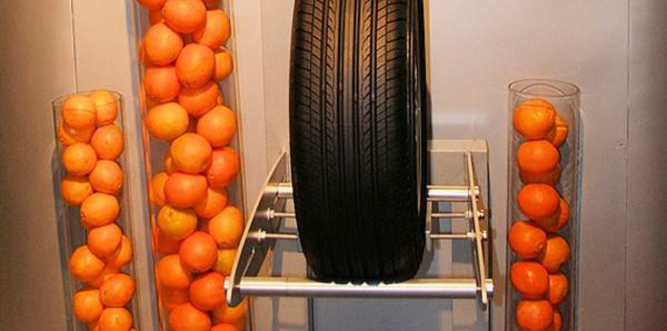 Yokohama squeezes the oil out of tyres