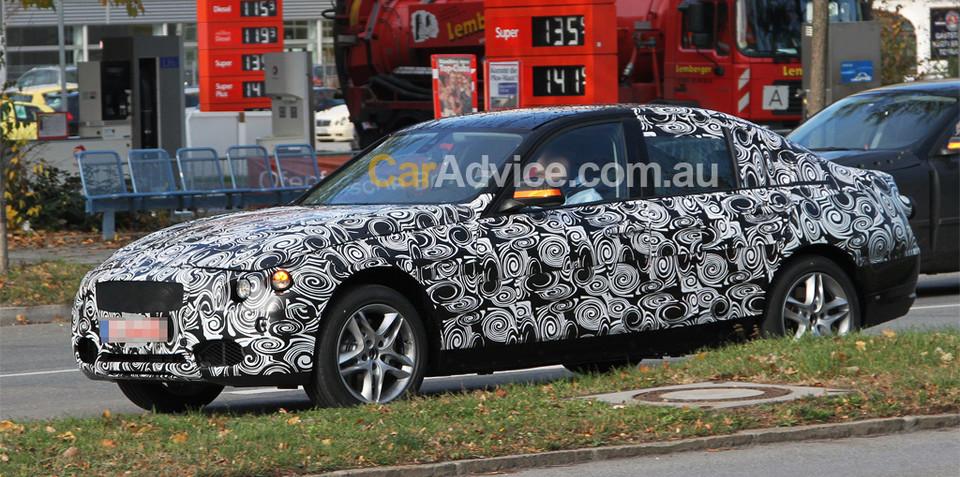 2011 BMW 3 Series spy photos