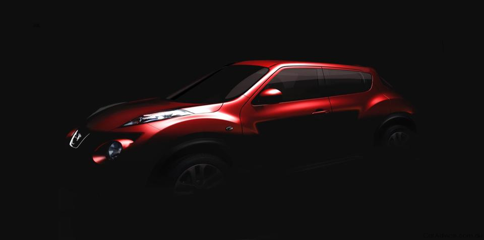 Nissan Juke concept teased ahead of Geneva Motor Show