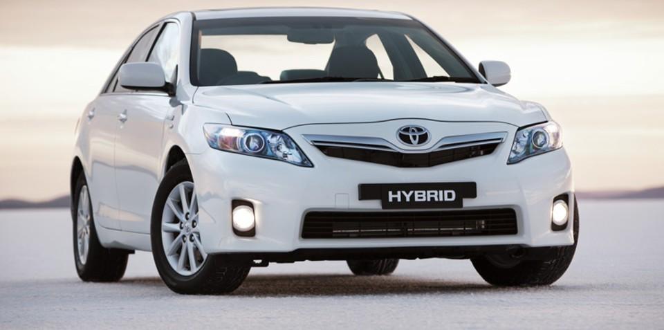 Toyota Camry Hybrid Safety Rating ANCAP