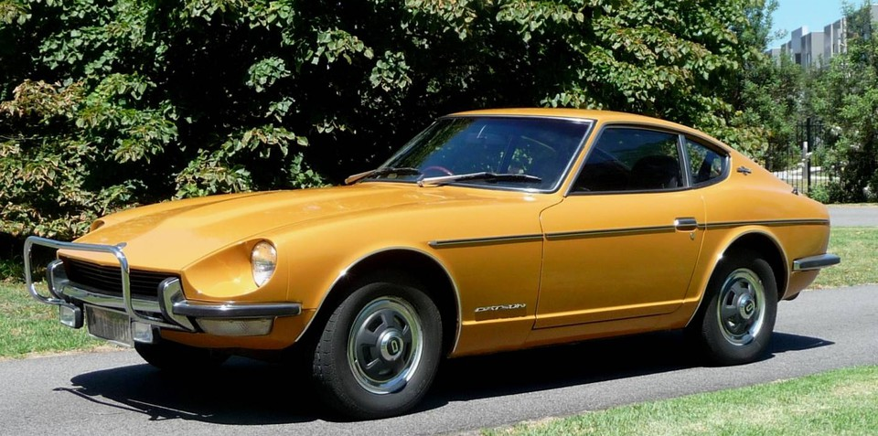 Classic Nissan Z to go under the auctioneers hammer