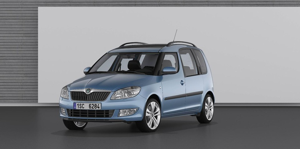 2010 Skoda Roomster, Fabia revealed, neither confirmed for Australia