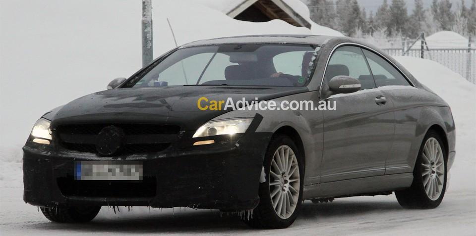 2010 Mercedes-Benz S Coupe 65 AMG spy photos
