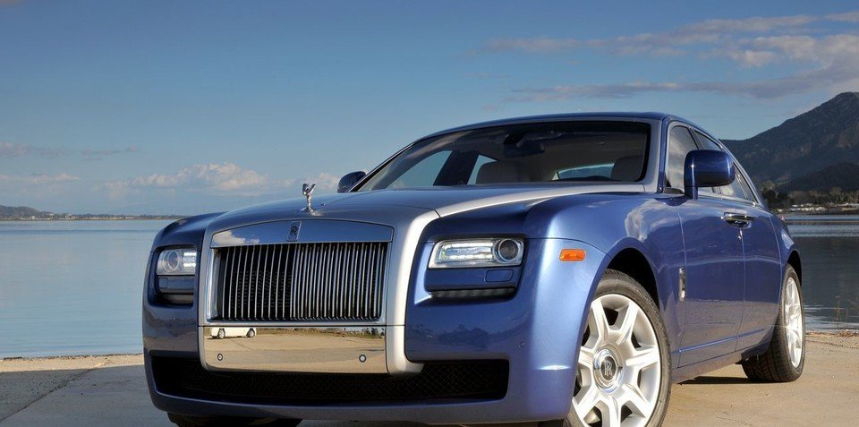 Rolls-Royce Ghost receives prestigious red dot design award