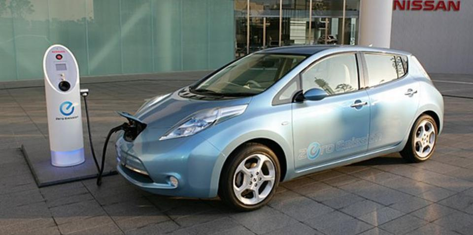 Nissan Leaf Coming to Australia 2012