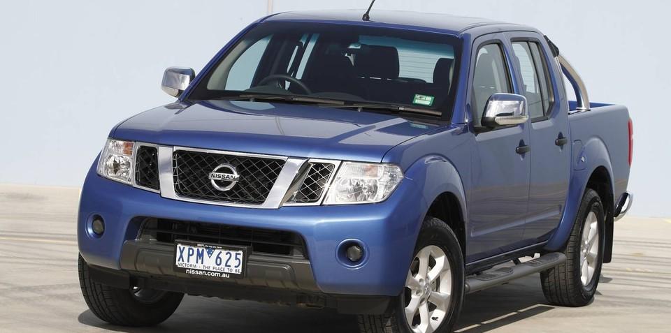 2010 Nissan Navara ST-X Dual Cab utility upgraded