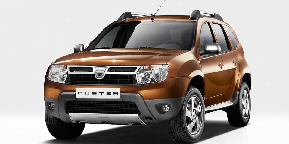 Dacia Duster revealed at Geneva Motor Show