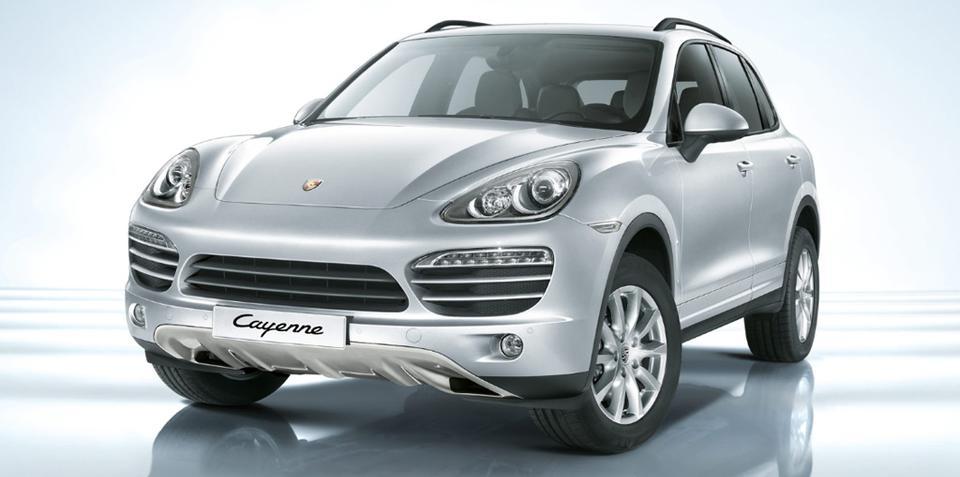 Porsche Cayenne new model pricing announced