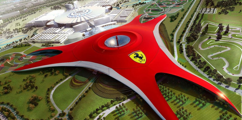 Ferrari World Abu Dhabi preview, opens 2010