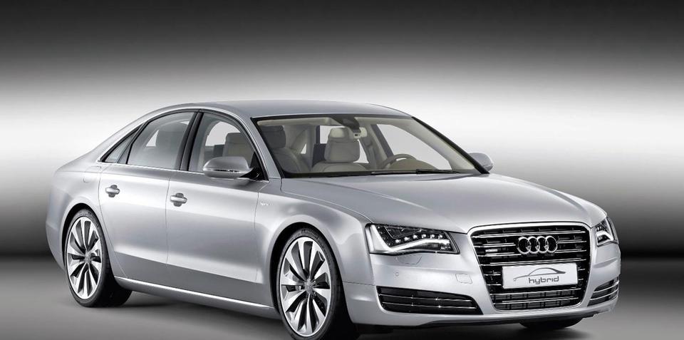 Audi A8 Hybrid revealed at Geneva 2010