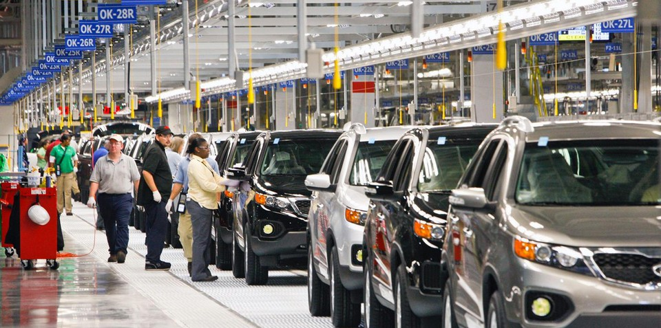 Kia opens its first-ever US manufacturing plant