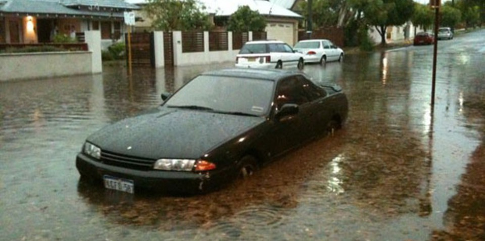 Perth writes off millions of dollars in cars after storm