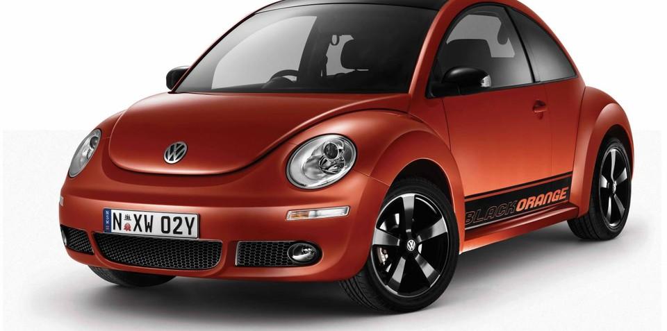Volkswagen Beetle BlackOrange Limited Edition