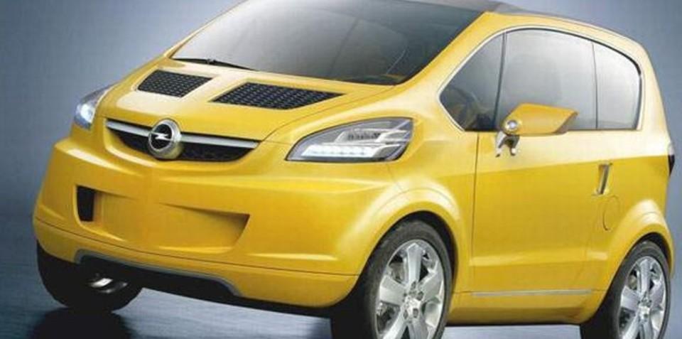 Opel Minicar Electric - iPod on wheels