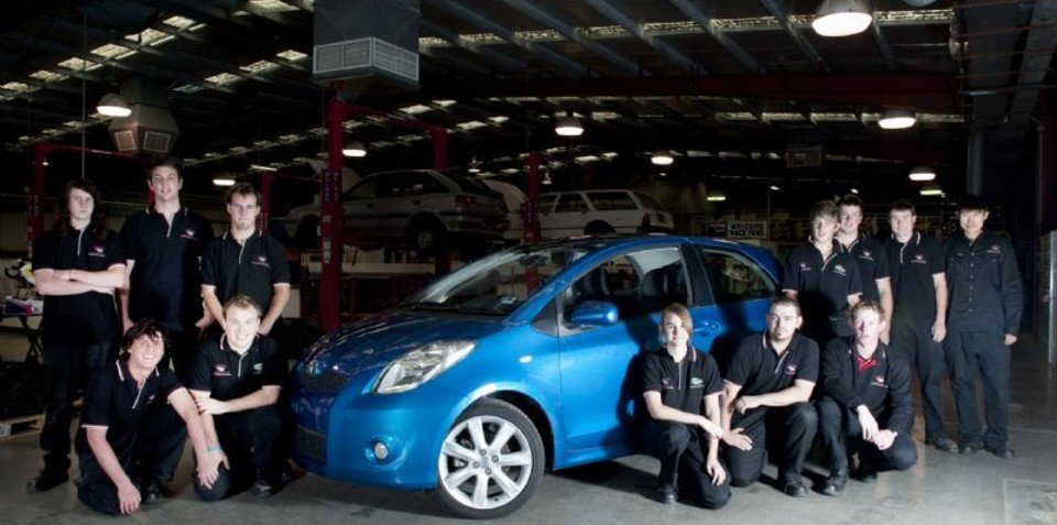 Toyota Yaris Supports Future Automotive Engineers