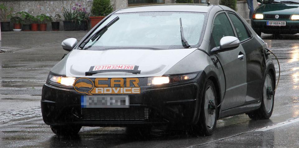 2012 Honda Civic Spy Photos