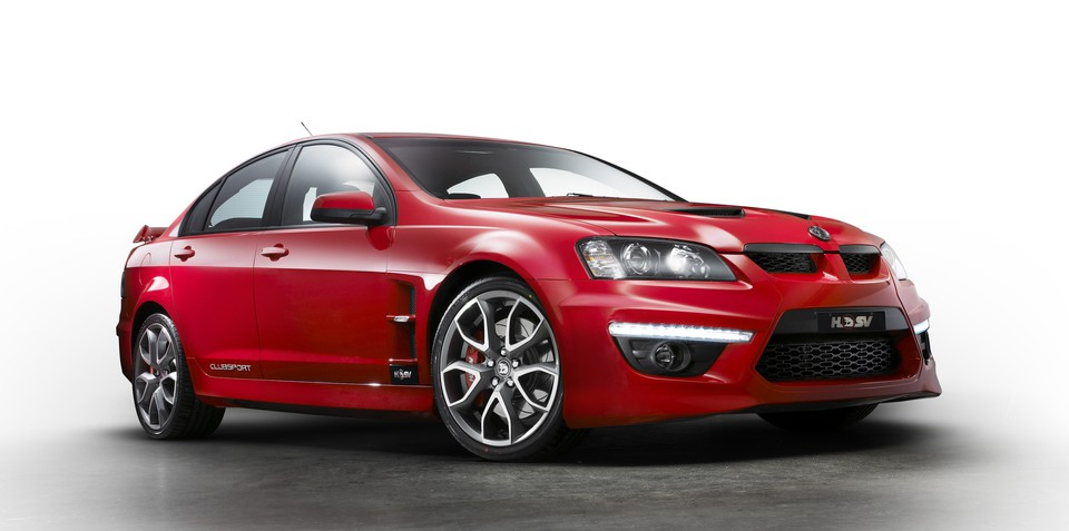 2010 HSV ClubSport CS special edition celebrates 20 years