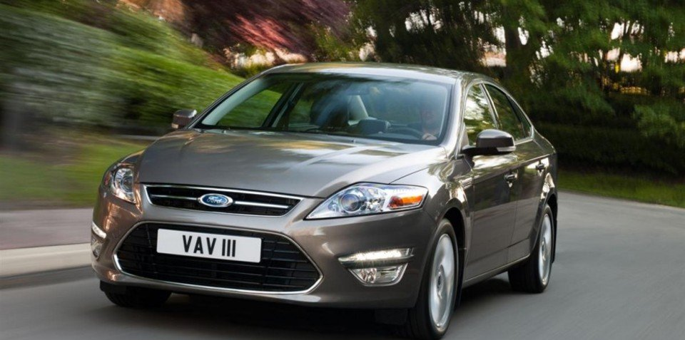 2011 Ford Mondeo unveiled ahead of Moscow premiere