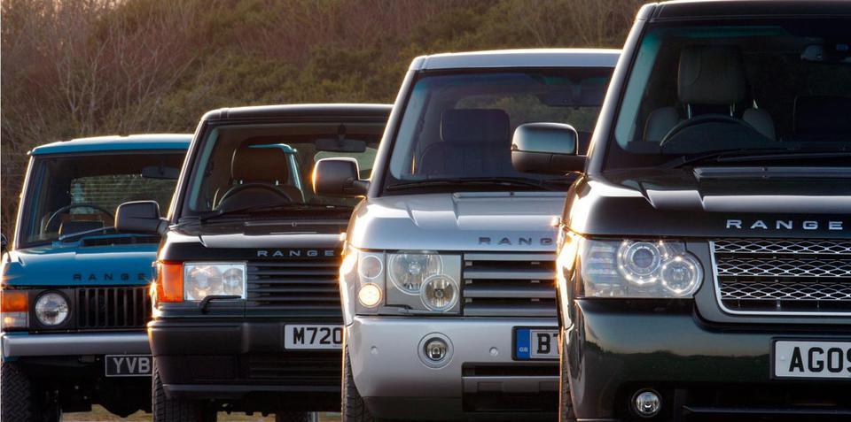 Range Rover celebrates 40th birthday