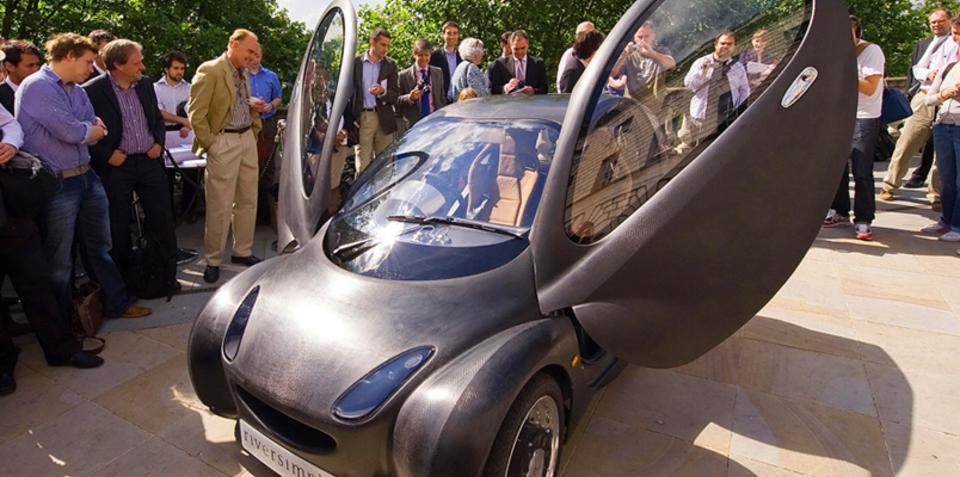 Riversimple hydrogen hybrid tours Australia