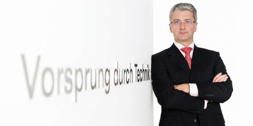 Rupert Stadler wants Audi to dominate premium car sales