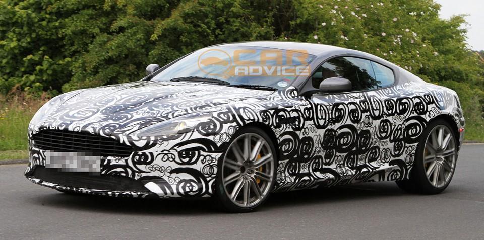 2012 Aston Martin DBS/DB9 prototype spied