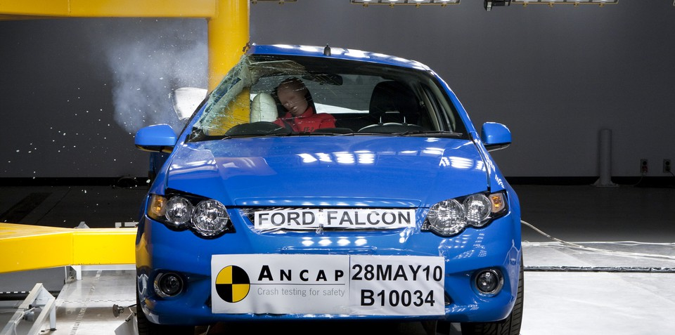 ANCAP awards Ford Falcon Ute, BMW X1 five-star safety rating