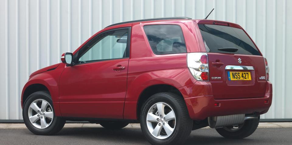 2010 Suzuki Grand Vitara updates not for Australia